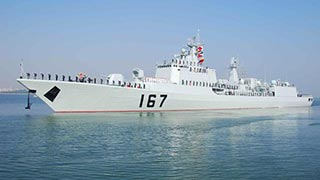 Guided-missile destroyer Shenzhen upgraded and re-commissioned