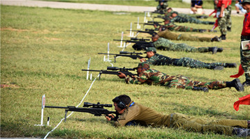 1st Sharp Blade International Sniping Competition kicks off in Beijing