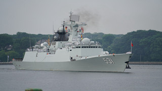 Chinese frigate Xiangtan arrives in Germany for Kiel Week