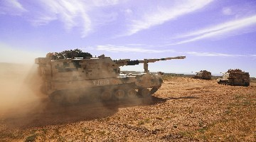 PLZ45 self-propelled howitzers to participate in