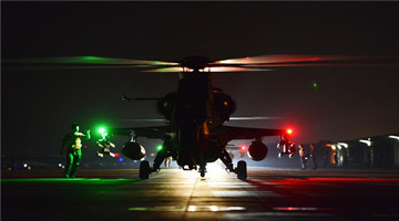 Army aviation regiment completes night flight training