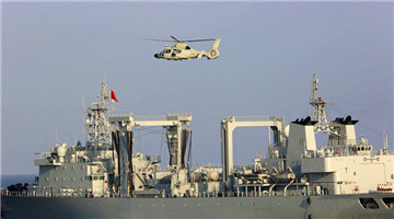 24th Chinese escort taskforce conducts drill in Gulf of Aden