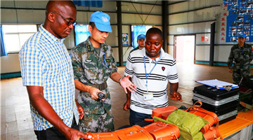 Chinese peacekeeping detachment to Congo (K) passes UN equipment inspection
