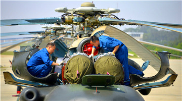 Full maintenance overhaul for Z-8B transport helicopters
