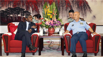 CMC vice chairman meets Equatorial Guinea VP in Beijing