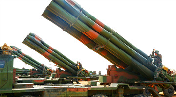 Artillerymen get rocket launcher systems ready for training