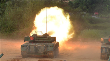 Main Battle Tanks spit fires