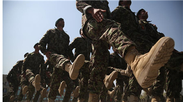 Fresh graduates join Afghan national army