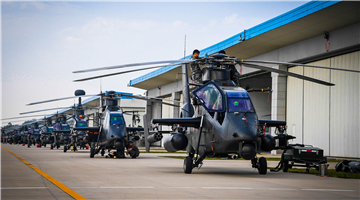 Helicopters receive phase maintenance