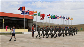 Int'l peacekeeping exercise Khaan Quest 2018 begins in Mongolia