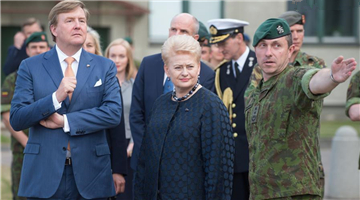 Defense and energy dominates visit of King of Netherlands in Lithuania