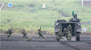 Annual live-fire military drill held in Gotemba, Japan