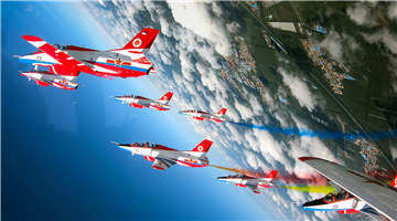 Highlights in open day activity at PLA Air Force Aviation University