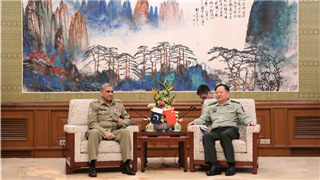 General Zhang Youxia meets Pakistani Army Chief