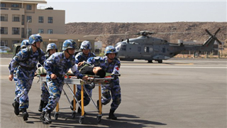 China conducts joint medical rescue drill with EU Naval Force in Djibouti