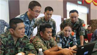China, Malaysia and Thailand joint military drill to maintain regional peace and stability