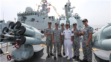 Ship open day activities in ASEAN-China Joint Maritime Exercise 2018