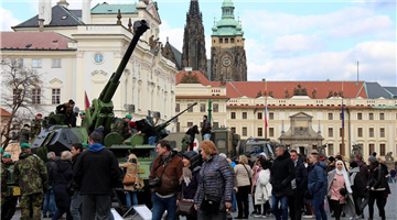 Military equipment exhibition held to mark 20th anniversary of Czech accession to NATO