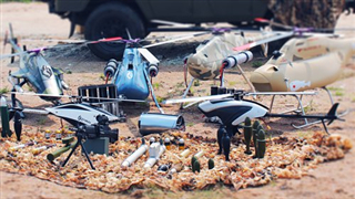 Chinese helicopter drones capable of intelligent swarm attacks
