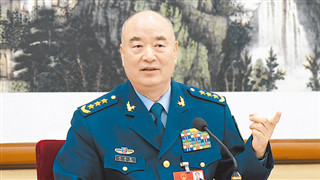 Senior military official stresses China's adherence to peace, justice