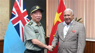 Chinese General met with Fijian Prime Minister