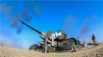 Soldiers fire anti-aircraft weapons in live-fire test