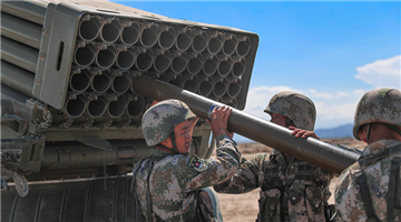 Xinjiang Military Command holds live-fire training