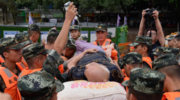 Sichuan activates highest level of flood control response for first time