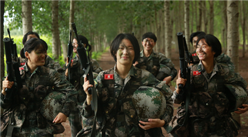 Female snipers in challenging filed operation
