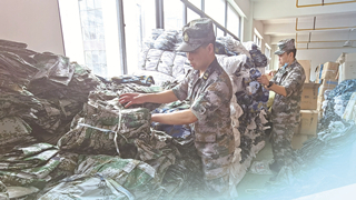 China cracks hard down upon illegal manufacture, sale of military uniform