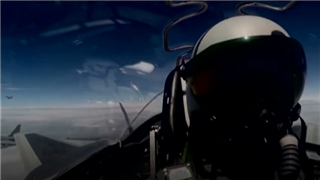 China's air force highlights new flight routes in promotional video