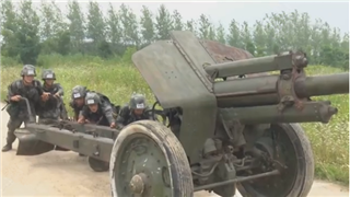 Chinese military academy cadets hold skills competition